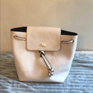 Michael Kors leather cream back pack
